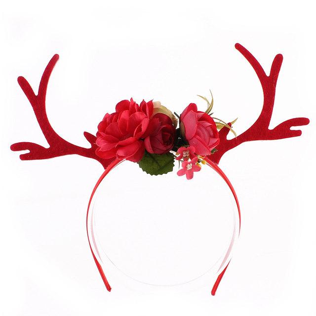 online shop cutiepie reindeer elk antlers hair hoop