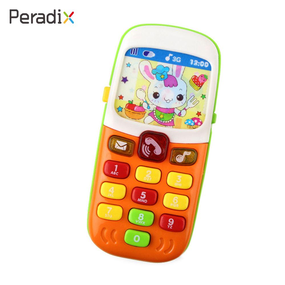 Telephone Gifts Electric Cellphone Toys Congintive Plastic Education Mobile