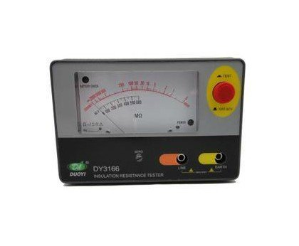 ФОТО DY3166 1000V Analogue Insulation Tester Resistor Meter