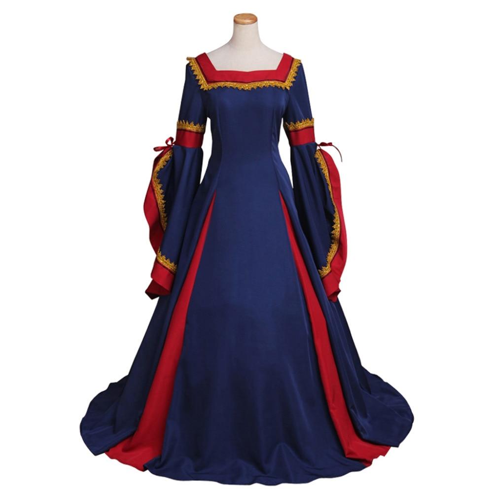 Popular Renaissance Medieval Dress-Buy Cheap Renaissance Medieval ...