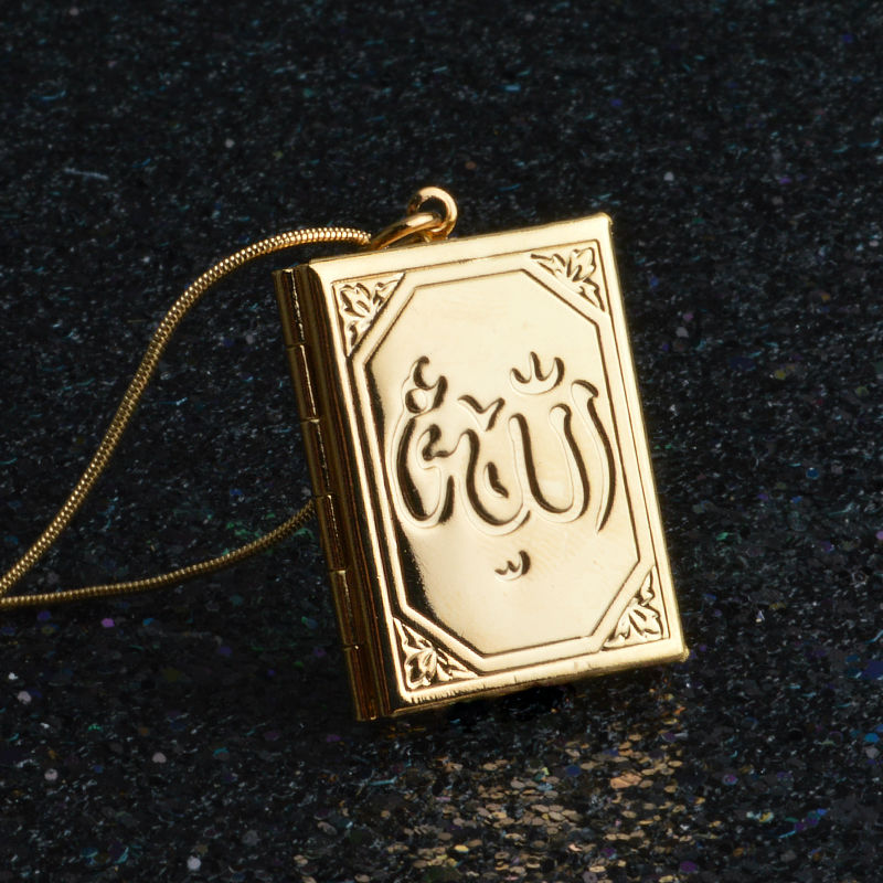 Allah necklaces pendants yellow muslim islamic wholesale quran allah necklaces pendants yellow muslim islamic wholesale quran necklace woman men jewelry in pendant necklaces from jewelry accessories on aloadofball Images
