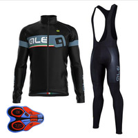 2017 New Winter Thermal Fleece Cycling Clothing Set Maillot Ropa Ciclismo Invierno MTB Bicycle Jerseys