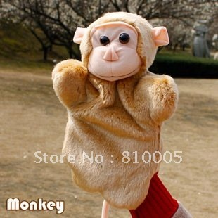Wholesale Finger Puppet animal cute monkeys