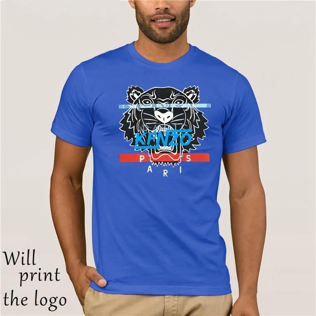 1Kfnzo Tiger T-Shirt Black FREE SHIPPING Unisex Casual Street Wear