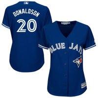 MLB Women S Toronto Blue Jays Josh Donaldson White Home Cool Base Player Jersey