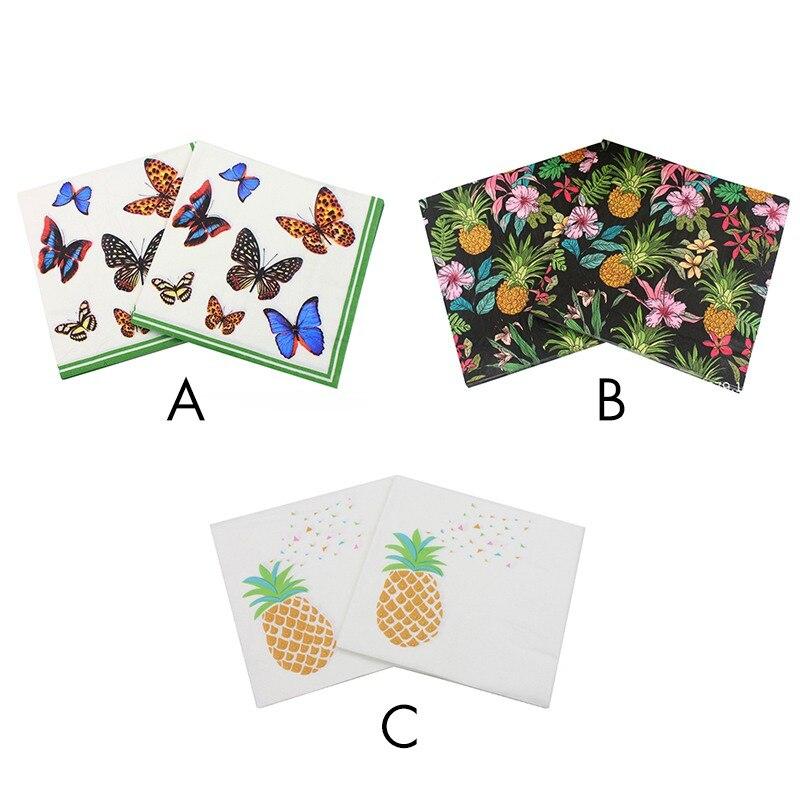 Beauty Butterfly Wydrukowano Funkcja Dekoracji Papieru