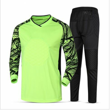 2019 New long-sleeved high-quality soccer goalkeeper suit ball can be customized