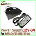 Adaptador de corriente de alimentación y para DM800hd DM500HD DM800se Sunray4 receptor de satélite AC & DC 12 v, 3A de salida