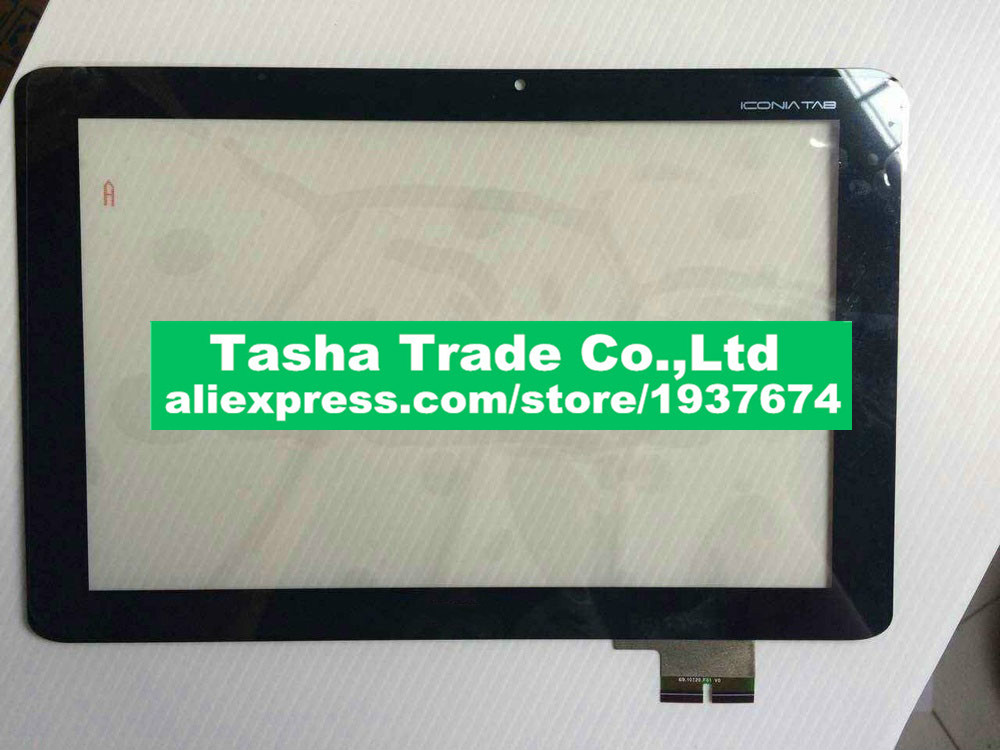 Touch Screen 69 10I20 F01 v0 Digitizer Glass Lens Replacement Repair Parts for Acer Iconia Tab