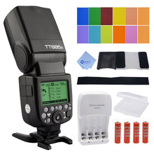 Godox tt685s hss 1/8000 s gn60 ttl speedlite de destello 230 flashes a plena potencia auto/manual de zoom para sony dslr cámaras a77ii a7rii