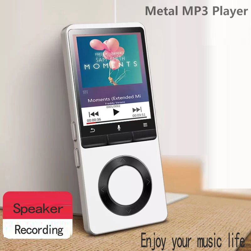 2019 New Arrival MP3 Music Player Built-in Speaker Lossless HD Quality Sound Multi-Function With FM, Supports SD Card UP To 64GB