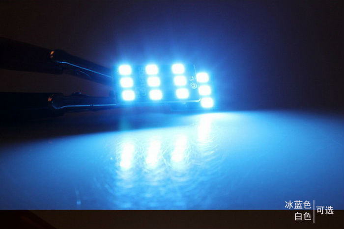 Julio King Ice Blue LED Car Interior Luces de lectura Funda para - Luces del coche - foto 4