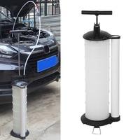 7L Engine Oil Fuel Extractor Pump Fluid Transfer Pump Manual Suction Vacuum Petrol Fluid Transfer Pump Tank