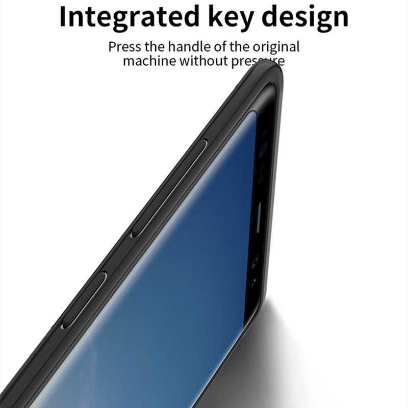 Para Samsung Nota Caso 9 IPAKY S9 S10 Caso PC À Prova de Choque Híbrido Armadura Protetora de Silicone Macio para Samsung Galaxy S10 mais Caso