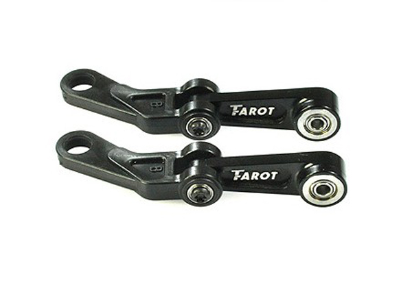 F05603 Tarot 450 Pro FL Metal Control Arms assembly Black TL45113QA For Flybarless RC Helicopter + FS tarot tl48023 01 metal carbon fiber tail gearbox assembly tarot 450 rc helicopter spare parts freetrack shipping