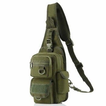 תיק כתף צבאי כולל נרתיק לאקדח