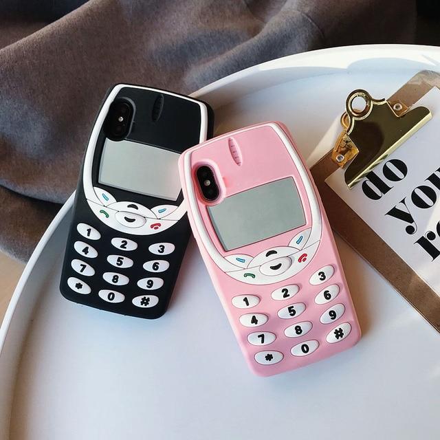Retro Keypad Phone Case