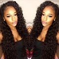 Lace Frontal Wig With Baby Hairs 100 Percent Human Hair Wigs Malaysian Water Wave Human Hair Loose Curl Wavy Hair Hot Products