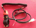 """Tether Line Kill Switch 12v Motorcycle ATV on off Button 7/8"""" Handlebar Mount"""