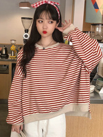 Fashion long sleeve kawaii graphic tees women korean japanese womens clothing shirts women 2019