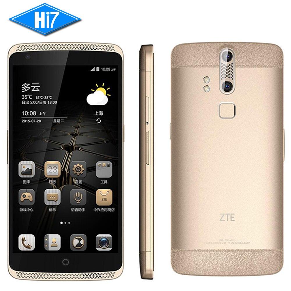 Original ZTE Axon A2015 Mobile Phone Snapdragon Android 3GB 32GB 4G FDD LTE 5 5 FHD