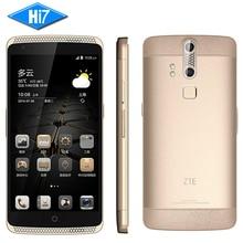 Оригинал ZTE Axon A2015 Мобильный Телефон Snapdragon Android 3 ГБ + 32 ГБ 4 Г FDD-LTE 5.5 «FHD 3000 мАч Двойной задняя Камеры Отпечатков Пальцев