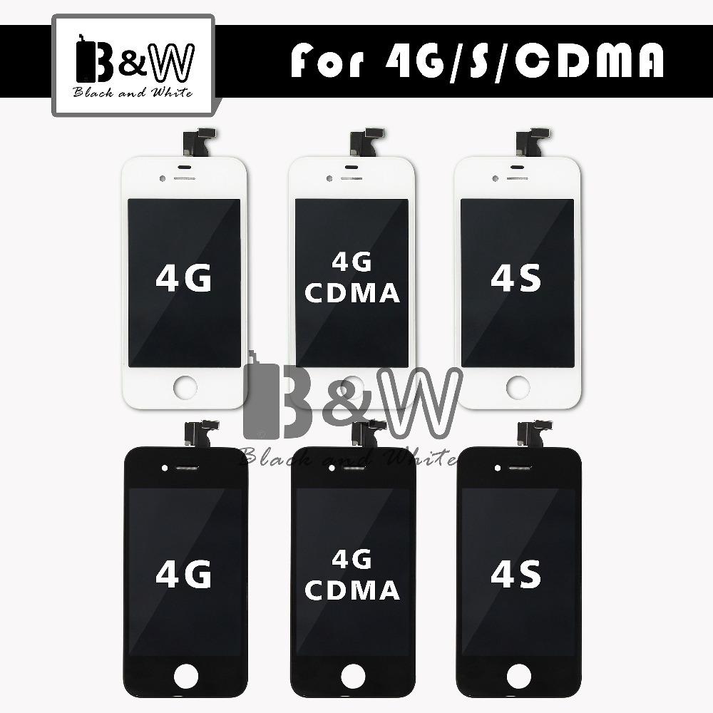 Prix pour 20 PCS/LOT Vente Chaude de Haute Qualité Pour IPHONE 4 4G 4S CDMA LCD Écran Affichage Grade AAA avec Écran Tactile Digitizer l'assemblée