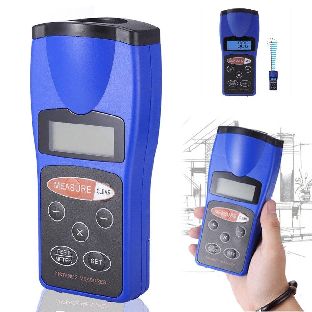 все цены на Better 18M LCD Ultrasonic Laser Pointer Distance Measurer Range Finder Diastimeter New 2017 онлайн