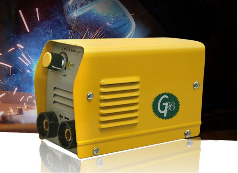 20-200A 110/220V Schweiß Maschine Inverter Arc Elektrische IGBT MMA/ARC Hause Anfänger Leichte Effiziente