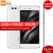 "D'origine Xiaomi Mi 6 Mi6 Pro 6 GB RAM 128 GB Snapdragon 835 Octa base 5.15 ""1920×1080 p Mobile Téléphone NFC Double Caméras Charge Rapide"