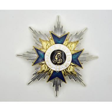 EMD WW1 German House Order Of Hohenzollern With Swords Commander Class1