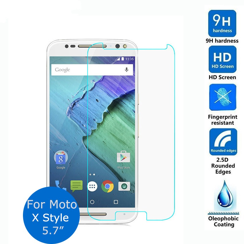 0.26mm Explosion-proof Front LCD Tempered Glass Film For Motorola Moto X Style Moto X Pure Edition 5.7 Inch LCD Screen Protector