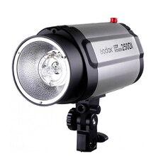 GODOX 250DI фотографическое мини освещение студийная вспышка 250 Вт монолайт фотография стробоскоп свет с ламповой головкой для DSLR камер