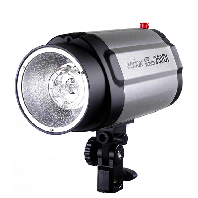 GODOX 250DI Photographic Mini Lighting Studio flash 250W Monolight Photography Strobe light with Lamp Head for DSLR Cameras