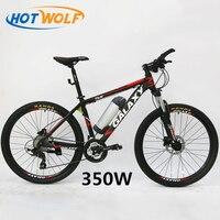 Масляный тормоз 26 дюймов горный велосипед батарея автомобиль модифицированный литиевая батарея электрический велосипед дисковый тормоз м