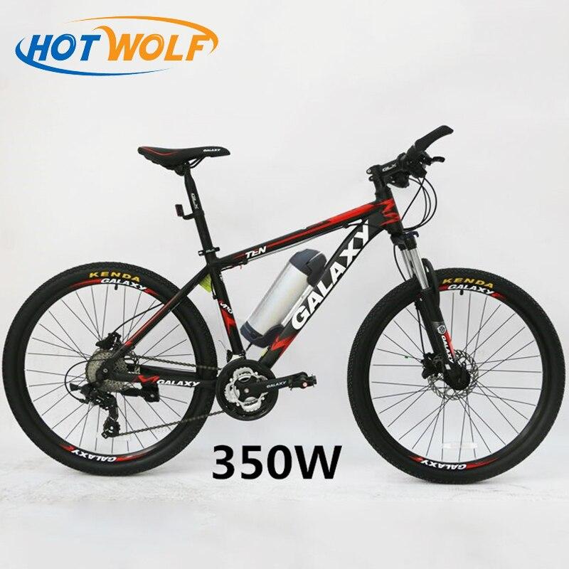 Olio freno 26 pollice mountain bike freno a disco auto batteria bicicletta elettrica batteria al litio modificato ciclomotore freno a disco 24 velocità