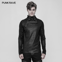 PUNK RAVE Men s Steampunk Gothic Daily Casual Zipper Long-sleeve Punk Rock 674fd8f2cba