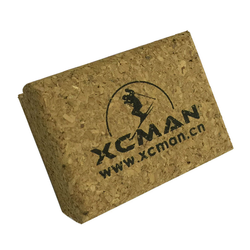 XCMAN Natural Polishing Cork For SKi Wax Or SKi Nordic Fluoro Wax Powders