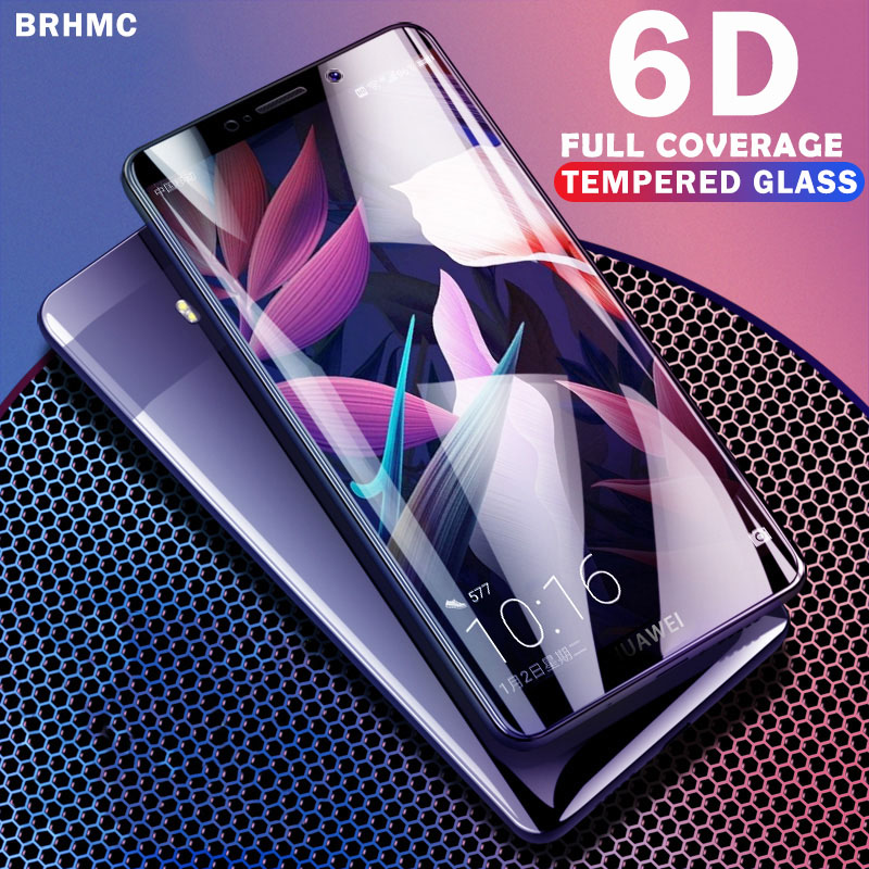 6D 9H Tempered Glass For Huawei P Smart Glass Screen Protector Full Cover For Huawey P Smart FIG Explosion Proof Glas