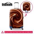 Paisley dispalang 3d capa protetor para 18-30 estiramento bagagem mala de viagem do trole à prova d' água dirtproof protetora capas para as mulheres
