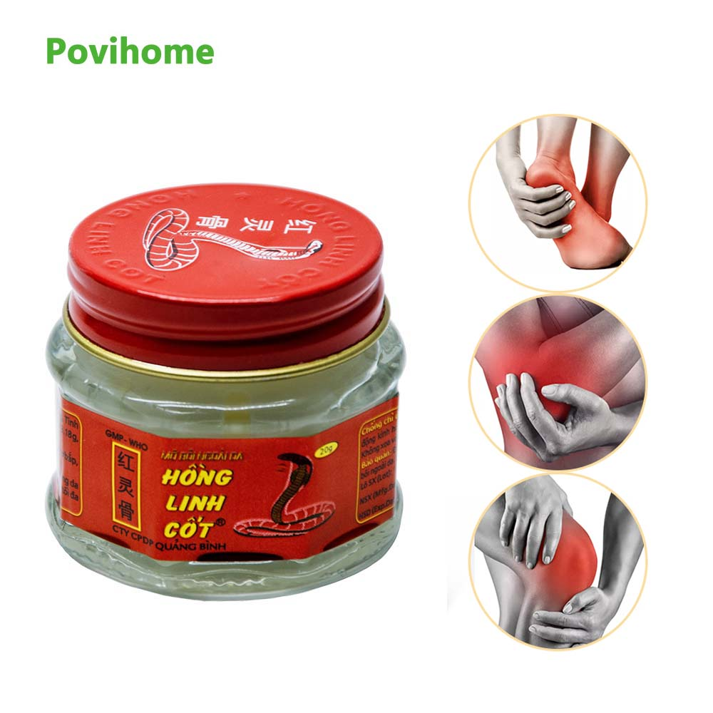 1pcs 100 Natural Original Vietnam Snake Balm Painkiller Ointment Muscle Pain Relief Ointment Soothe Itch 20g P0007 in Patches from Beauty Health