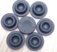 1000pcs/lot 20mm Teflon Coated Butyl Rubber Plugs Stopper