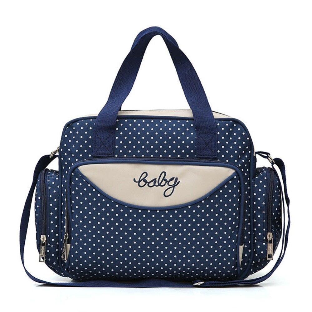 Stroller-Bag-Organizer Totes Handbags Travel-Bag Large-Capacity Women 5pcs/Set Maternity-Nappy-Bag