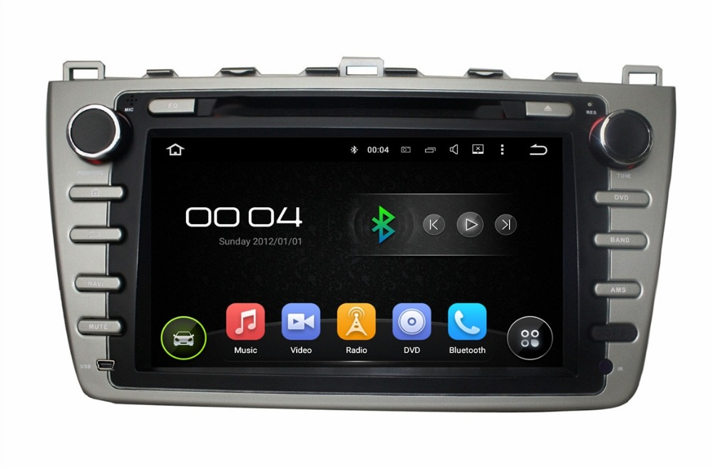 1024*600 HD 2 din 8″ Android 5.1 Car dvd radio gps Car Bose system for Mazda 6 2008-2012 With 3G WIFI Bluetooth USB DVR 16GB ROM