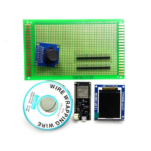 TTGO ESP32 Camera OV7670-1.8 TFT display Module KIT
