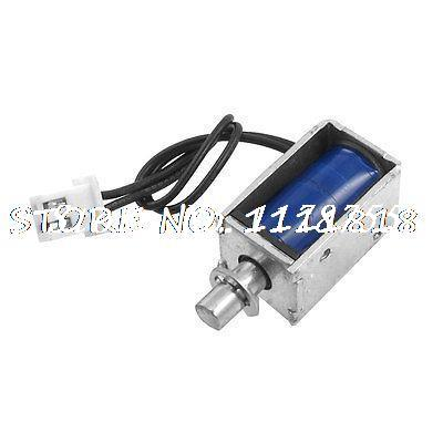 DC 12V 1A 4mm 100gf Actuator Linear Pull Solenoid Electromagnet