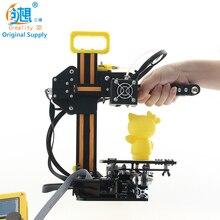 CREALITY 3D 2017 Новейший Алюминиевый Мини 3D Принтер CR-7 3d-принтер DIY Kit Easy To Carry With 12864LCD + накаливания Подарок для Детей
