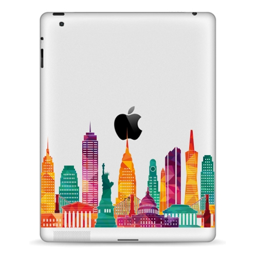 YCSTICKER - Tablet Partial Sticker Vinyl Decal left&Right Brain Painting Protective Skin For iPad Mini 123 Mini4 Mini5 7.9 ...