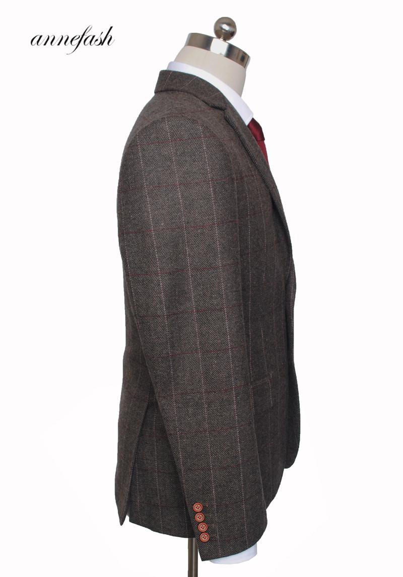 Men's Tailor Made Black Suit Sets Wedding Dress Suit Classic Groom Wear Tuxedo Jacket With Pant(Jacket+bowtie+Pant) 6