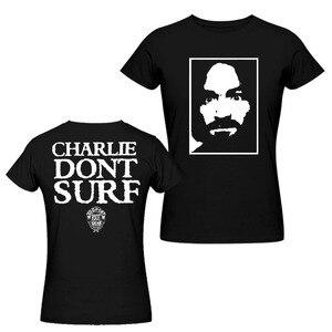 Image 5 - チャールズマンソンチャーリーないサーフ着用として Axl ローズ 90 ヴィンテージ Tシャツ男性と女性の Tシャツビッグサイズ s XXXL